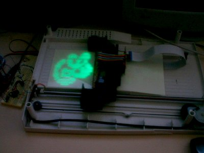 led-phosphorescent-printer