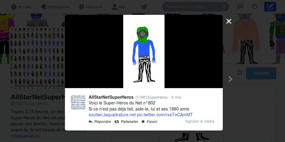 tweet-quadrature